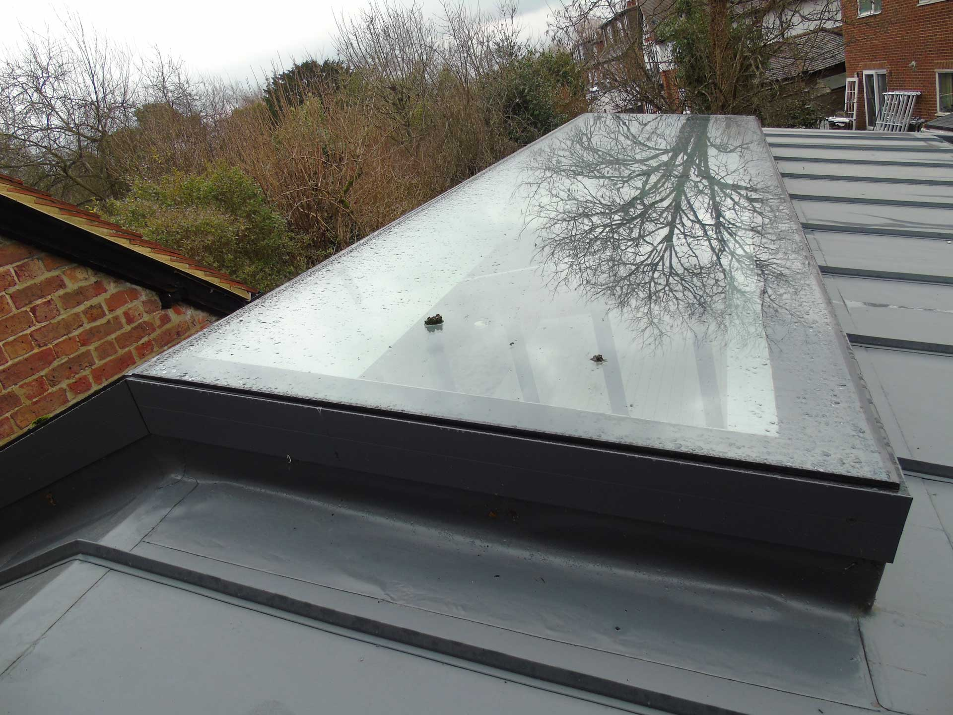 Fixed Flat Rooflights Surrey London
