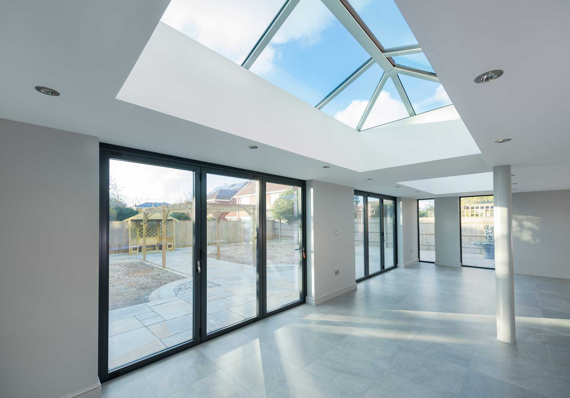 Aluminium Lantern Roofs Surrey & London